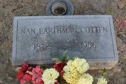 Nannie Kate Nan <i>Earthman</i> Cotten