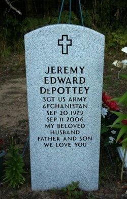 Sgt Jeremy Edward DePottey