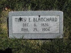 Mary Eliza <i>Sweetser</i> Blanchard