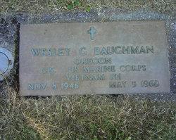 Corp Wesley Gene Baughman