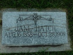 Sarah Jane <i>Clyde</i> Hatch