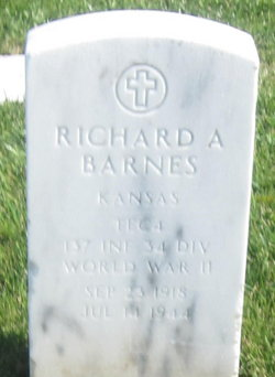 Richard A Barnes
