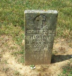 Bennet Henson Higdon