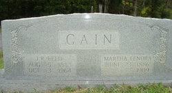 J R Reed Cain