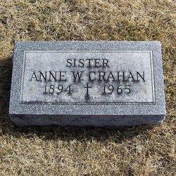 Anne W Crahan