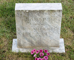 Sarah <i>Haskell</i> Carpenter