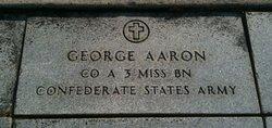Pvt George Aaron