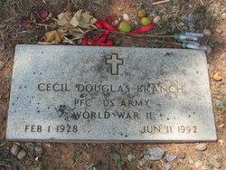 Cecil Douglas Branch