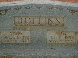 Vana <i>Webb</i> Rollins