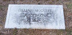 Lillian R <i>McGuire</i> Anderson