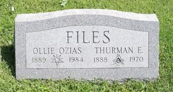 Ollie Sophrona <i>Ozias</i> Files