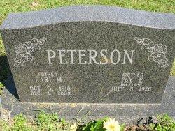 Earl M Peterson