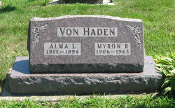 Alma L <i>Cook</i> Von Haden