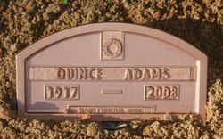John Quincey Quince Adams