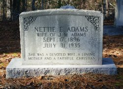 Nettie Eliza <i>Watson</i> Adams