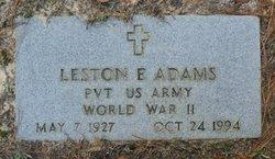 Leston Ernest Adams
