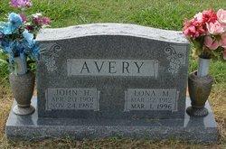 Lona M <i>Edwards</i> Avery