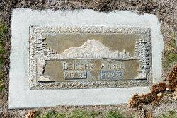 Bertha R Albee