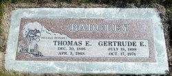 Thomas E Badgley