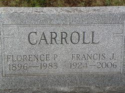 Florence P <i>Cooney</i> Carroll
