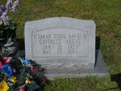 Sarah Ethel <i>Hawks</i> Akers
