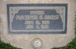 Florence G Adams