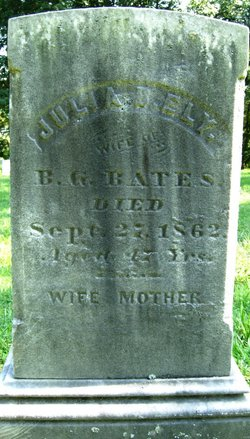 Julia Bartlett <i>Ely</i> Bates