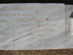 Mary Rebecca Allen