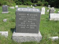 Mary E <i>Tunison</i> Brown