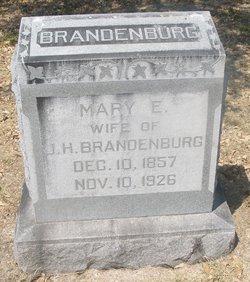 Mary Elizabeth <i>Lasater</i> Brandenburg