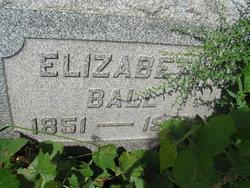 Elizabeth <i>Bane</i> Ball