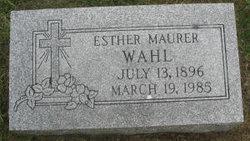 Esther <i>Beeker</i> Wahl