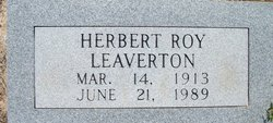 Herbert Roy Leaverton