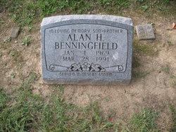 Pvt Alan Hardin Benningfield
