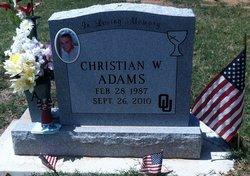 Sgt Christian William Adams
