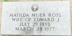 Matilda Cecelia <i>Meier</i> Ross