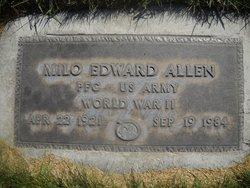 Milo Edward Allen, Sr