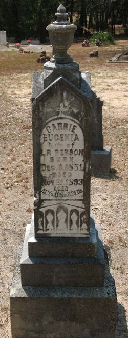 Carrie Eugenia Person