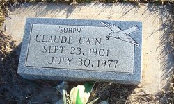 Claude Soapy Cain