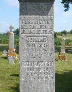 Margretha Mary <i>Hennen</i> Deutsch