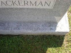 Amanda Mildred <i>Bleam</i> Wackerman