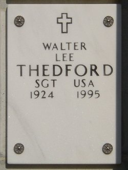 Walter Lee Thedford