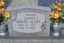 Leatha Ermine Ermine <i>White</i> Allen
