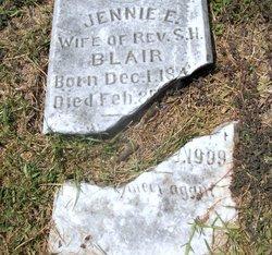 Jennie E <i>McKaskle</i> Blair