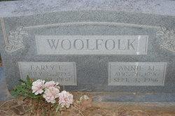 Annie Mae <i>Negley</i> Woolfolk