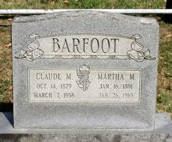 Claude McNeron Barfoot