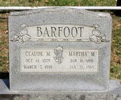 Martha M. Barfoot