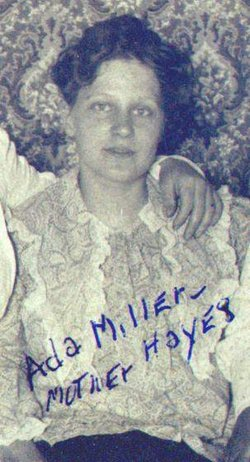 Adah L <i>Miller</i> Hayes