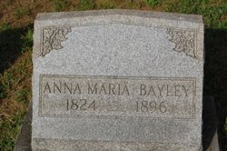 Anna Maria <i>Fitzgerald</i> Bayley
