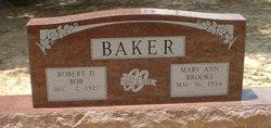 Mary Ann <i>Brooks</i> Baker